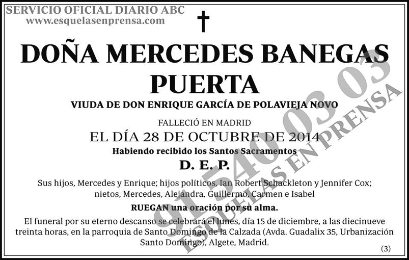 Mercedes Banegas Puerta